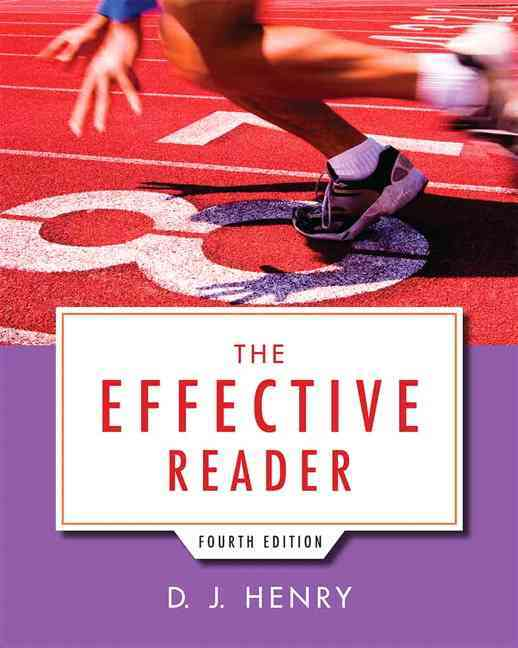 The Effective Reader By Henry, D. J.